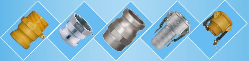 Different kinds of camlock coupling
