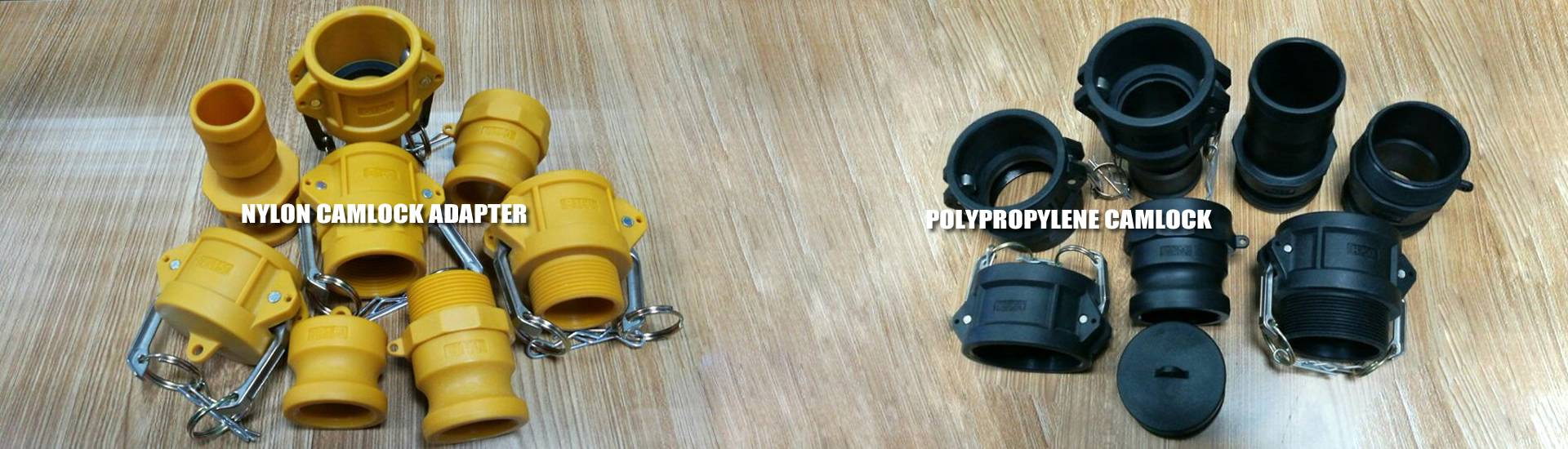 2 Adapter Nylon USA SealingsCam and Groove Fitting Type DP