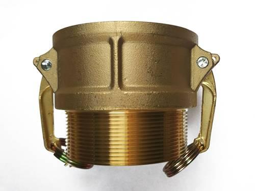 Brass camlock coupler part b female by male npt