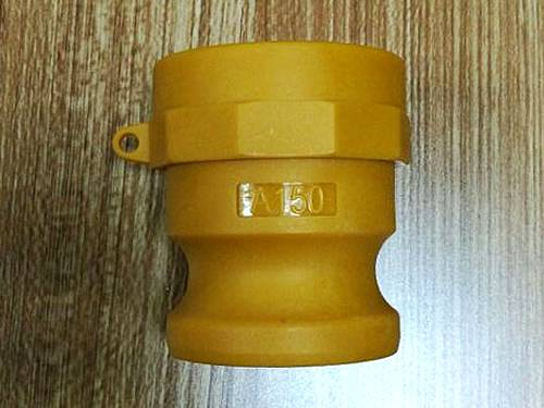 100B POLYPROPYLENE CAM /& GROVE COUPLING; 1 INCH FEMALE COUPLER MALE NPT CAMLOCK COUPLER