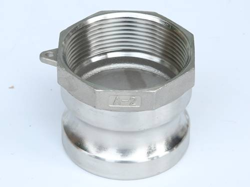 Stainless steel camlock coupling type a male adapter by